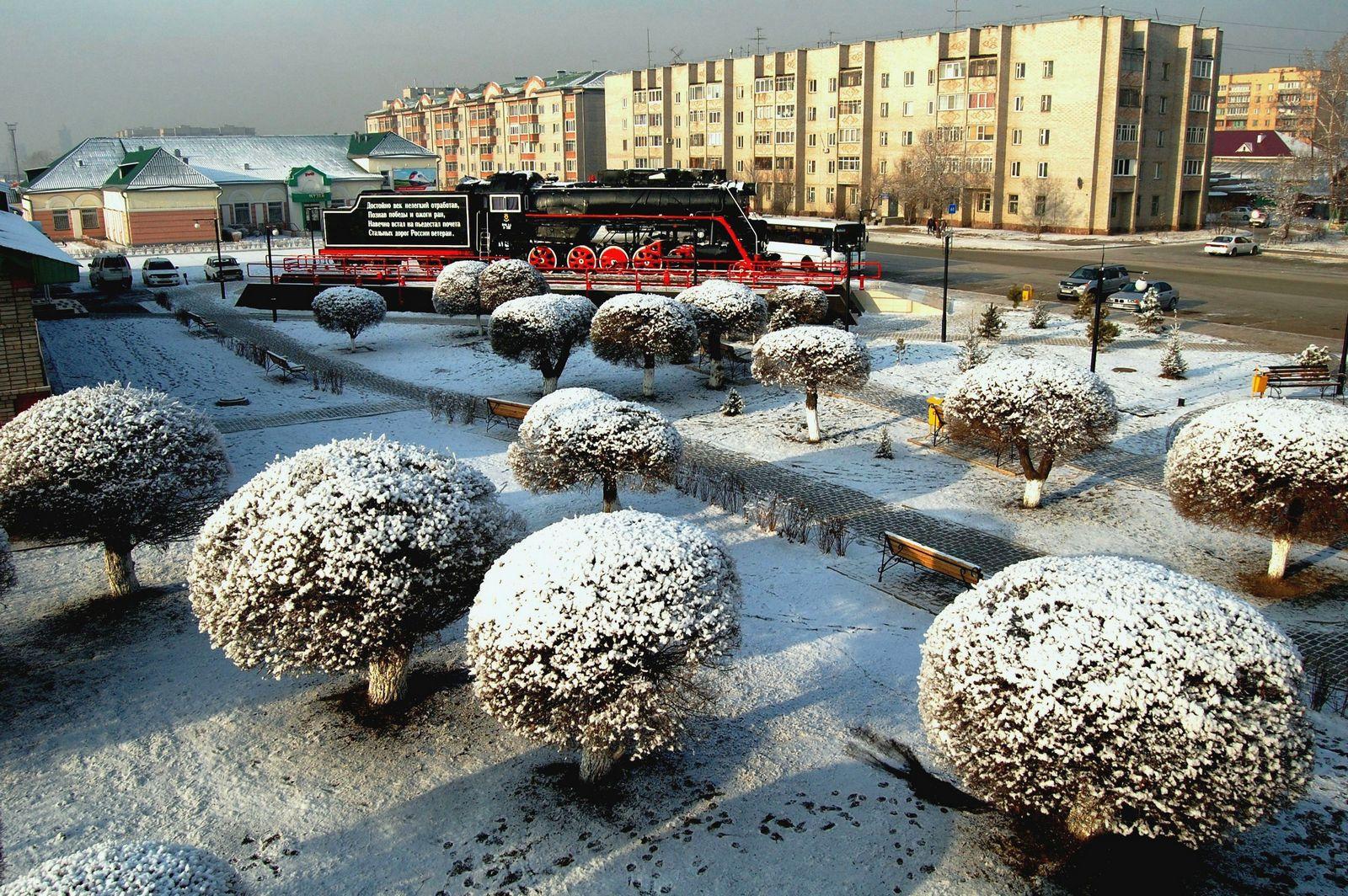 Картинки по запросу абакан снегопад фото